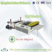 Wholesale High Quality Carbon Less Paper Roll Sheeter & Cutting Slitting Machine from china suppliers