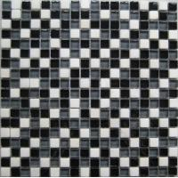 Mosaic Tile As Interior Elements : ... Glossy Marble Stone And Glass Mosaic Tile For Interior Wall on sale
