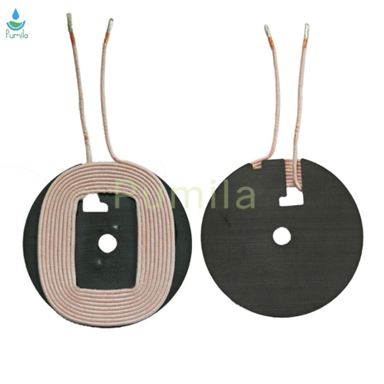 Wholesale Copper Wire Winding coil QI wireless charger coil A11 with Ferrite from china suppliers