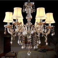 Crystal chandelier lamp quality crystal chandelier lamp for Sala novelty