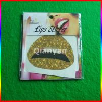 China water transfer temporary tattoo, hot lip/mouth tattoo sticker on sale