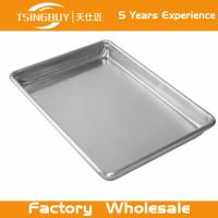 Wholesale Factory direct wholesale bread baking aluminum sheet-bread bakery tray-non-stick Baking Trays from china suppliers