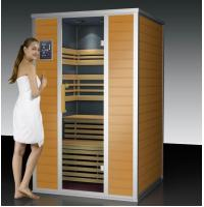 patent 6D total surround infrared sauna