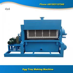 China 4x4 3000pcs  semi automatic manual egg tray machine price on sale
