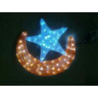 Wholesale led moon and star lights for shopping mall ramadan decorations from china suppliers