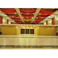 Dancing Room Movable Walls Folding Internal Doors For Meeting Room 85mm Panels