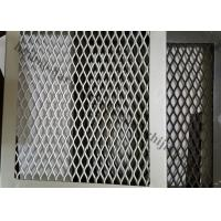 China Interior Expanded Metal Facade Panels, Exterior Decoration Aluminum  Mesh Screen On Sale .