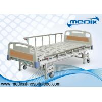 Quality ISO approved Patient Hospital Beds With Three Crank Multifunction ICU Medical Bed for sale