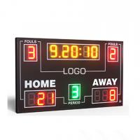 Buy cheap IP65 Electronic Led Basketball Scoreboard With 8 Inch Digit In RGY Color from wholesalers