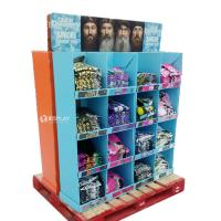 China T - Shirt Advertising Cardboard Pallet Display Shelf With Wonderful Design wholesale
