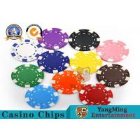 Wholesale PMS Printing Casino Poker Chips Abs Plastic Inner Steel Core Environmental Protection Material from china suppliers