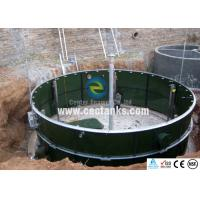 China Large Capacity GFS Bolted Steel Storage Tanks for Waste Water on sale