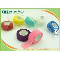 Wholesale Non Woven Elastic Cohesive Bandage For Finger , Self Adherent Bandage Wrap from china suppliers