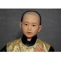 China Hand Made Lifelike Wax Sculpture For Decoration , Tourist Resort  Exhibition wholesale