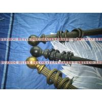 Wholesale 2012 Hot Selling Desing  Antique Color Wooden Curtain Pole Set from china suppliers