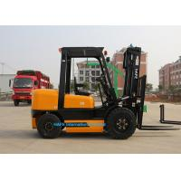 Wholesale Premium Quality 3.5T Diesel Operated Forklift , High Reach Forklift Ceiling Type from china suppliers