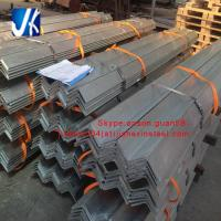 Buy cheap equal angle unequal angle hot dipped galvanized steel angle bar from wholesalers