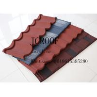 Wholesale Wind resistance galvanized Stone Coated Roofing Tiles for Middel East from china suppliers