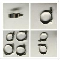 Wholesale Stainless Steel T Bolt Clamps For Silicon / Rubber Tube Couplers High Strength from china suppliers