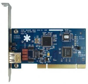 TE110P E1/T1 Card ISDN PRI PCI Card for Call Center