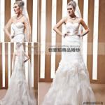 Wholesale trumpet wedding ceremony dresses ,  off shoulder trumpet wedding dresses 90068 from china suppliers