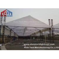 Wholesale Big Strongly Aluminum Stage Truss Structure , Durable Event Lighting Truss from china suppliers