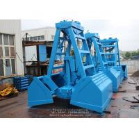Wholesale SWL 20T 6 - 10M3 Remote Controlled Clamshell Grabs for Bulk Cargo of Sand or Iron Ore from china suppliers