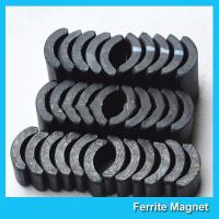 Wholesale Powerful Ceramic Ferrite Arc Magnet Sintered Permanent Magnets Customized from china suppliers