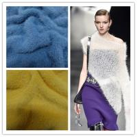 Wholesale Fancy richness hair soft fluffy nylon mink hairy like for  hand crochet flact machine knitting yarn from china suppliers