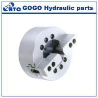 Wholesale Solid Dynamic Hydraulic Lathe Chuck / 2 Jaw Chuck For Surface Grinding Machine from china suppliers
