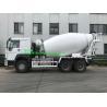 Buy cheap 10 Wheels 10M3 Concrete Mixer Truck Sinotruk Howo 7 336hp Euro2 RHD from wholesalers