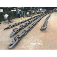 Wholesale ABS DNV BV R3 R3S R4 R4S R5 Offshore Mooring Chain , Stud Link Mooring Chain from china suppliers
