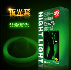 Wholesale 7Pcs/Box  Glowing Condoms from china suppliers