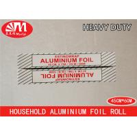 Wholesale Durable Catering Aluminium Foil Roll 45cm X 14micron X 60m Environmental Protection from china suppliers