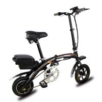 Wholesale Removable Lithium Battery Fold Up Electric Bike , Folding Electric Bicycle 12'' 250W 36V from china suppliers