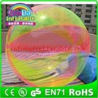 High Quality and Cheap Inflatable Water Ball ,Transparent Ball For Kids Water Games