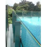 how to clean pool glass fencing