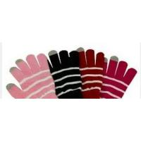 Buy cheap knitted touch screen gloves from wholesalers