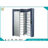 Wholesale Single Lane Full Height Turnstiles Security Turnstile Gate For Pedestrian Access from china suppliers