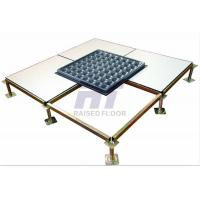 China Anti - Static HPL Computer Room Raised Floor Systems Loading Capacity High wholesale