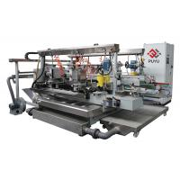 Wholesale PLC touch screen Glass Double Edging Machine For R 2 Degree With Double Servo from china suppliers
