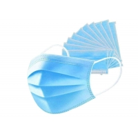 Wholesale Daily Wearing Face Nonwoven Disposable 3 Ply Earloop Mask from china suppliers