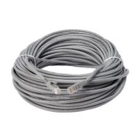 Wholesale Soft 100FT LSZH Gray PVC UTP Cat5e Patch Cable , RJ45 Network Patch Cord from china suppliers