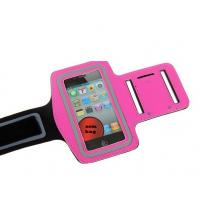 Wholesale Colorful GYM velcro jogging sports neoprene armband for iphone 5 with a pocket for car key from china suppliers