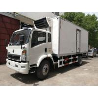 China DFAC Small Refrigerated Van Truck Fast Food Cooling Van Body ISO 9001 Approved on sale