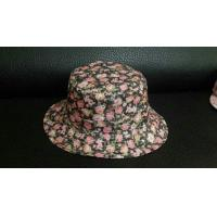 Buy cheap Custom And Wholesale Cheap Floral Printed Bucket Hat from wholesalers