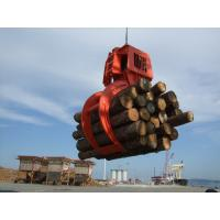 Wholesale Large Capacity Electro Hydraulic Timber Grab / Wood Grabs / Log Grapple High Efficiency from china suppliers
