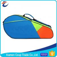 Wholesale Adjustable Shoulder Strap Custom Sports Ball Bag Durable Zipper For Badminton from china suppliers