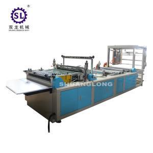 China Zipper Head Feeding Zip Lock Bag Making Machine Multifunctional Worktable on sale
