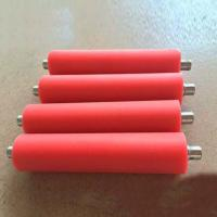 Wholesale Rubber Roller Rails Conveyors , Customized Accumulation Conveyor Systems from china suppliers